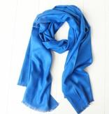 Kobaltblauwe herensjaal