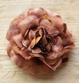 Bruine bloemcorsage