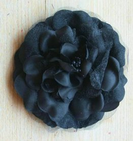 Zwarte corsage