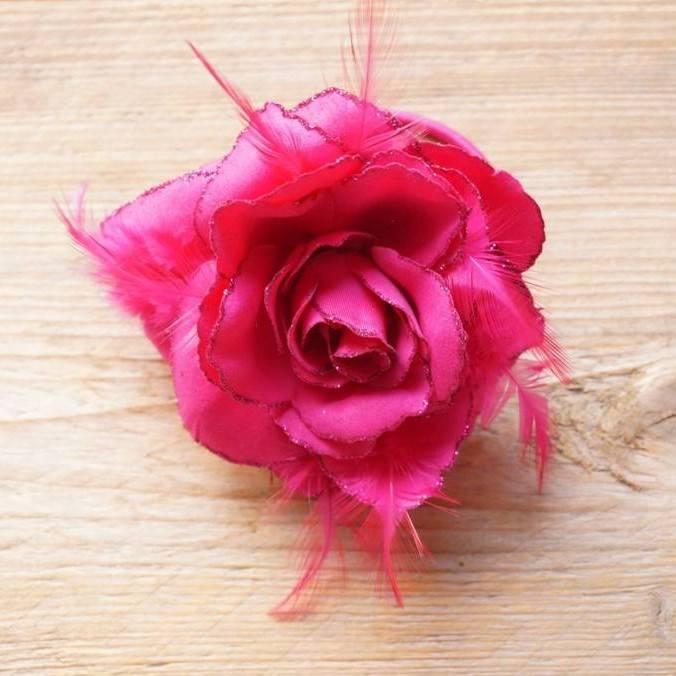 Magenta roze corsage