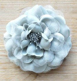 Grijze bloemcorsage