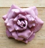 Oud roze corsage (groot)