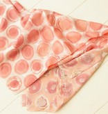 Sjaal met roze balletjes