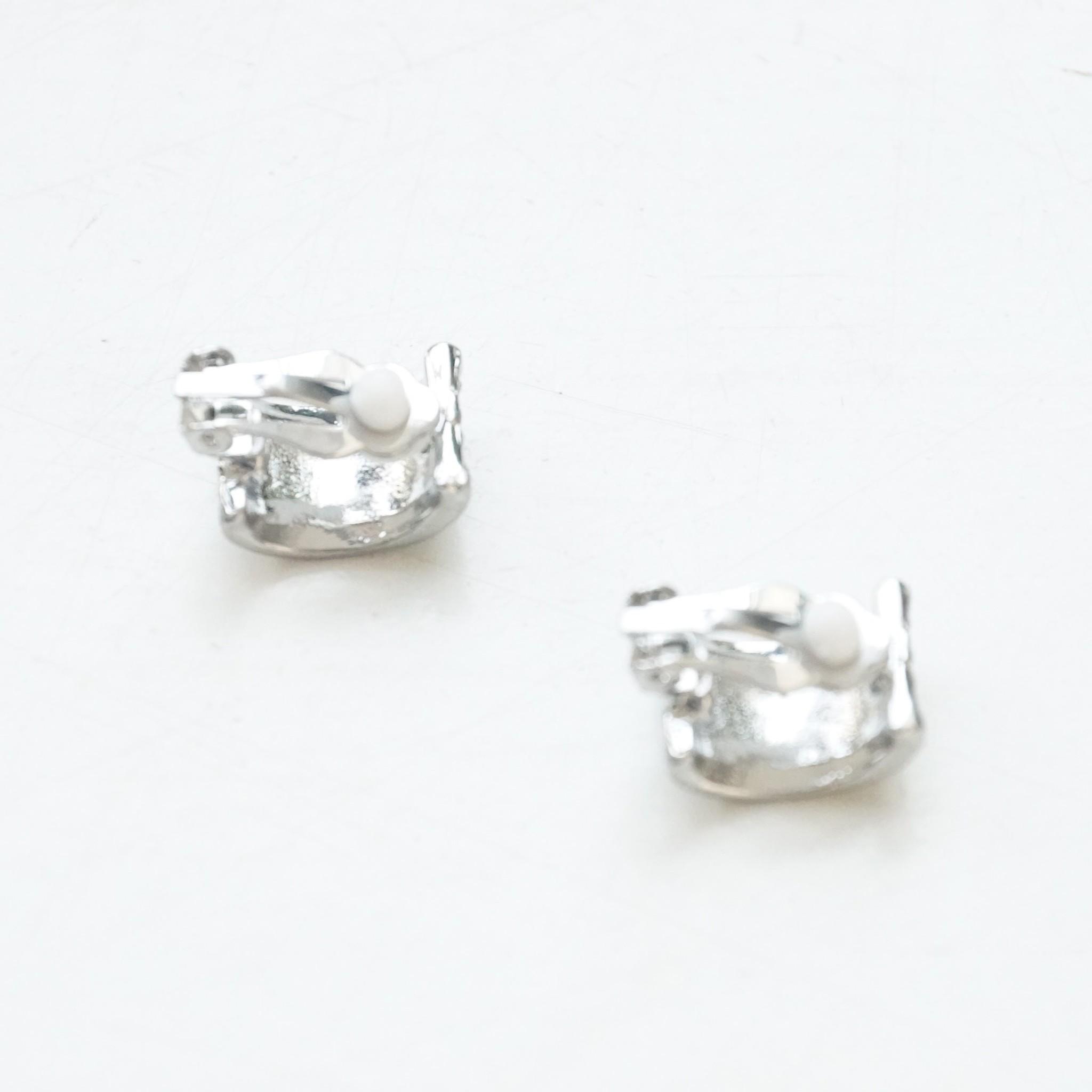 strass oorbelletjes clips