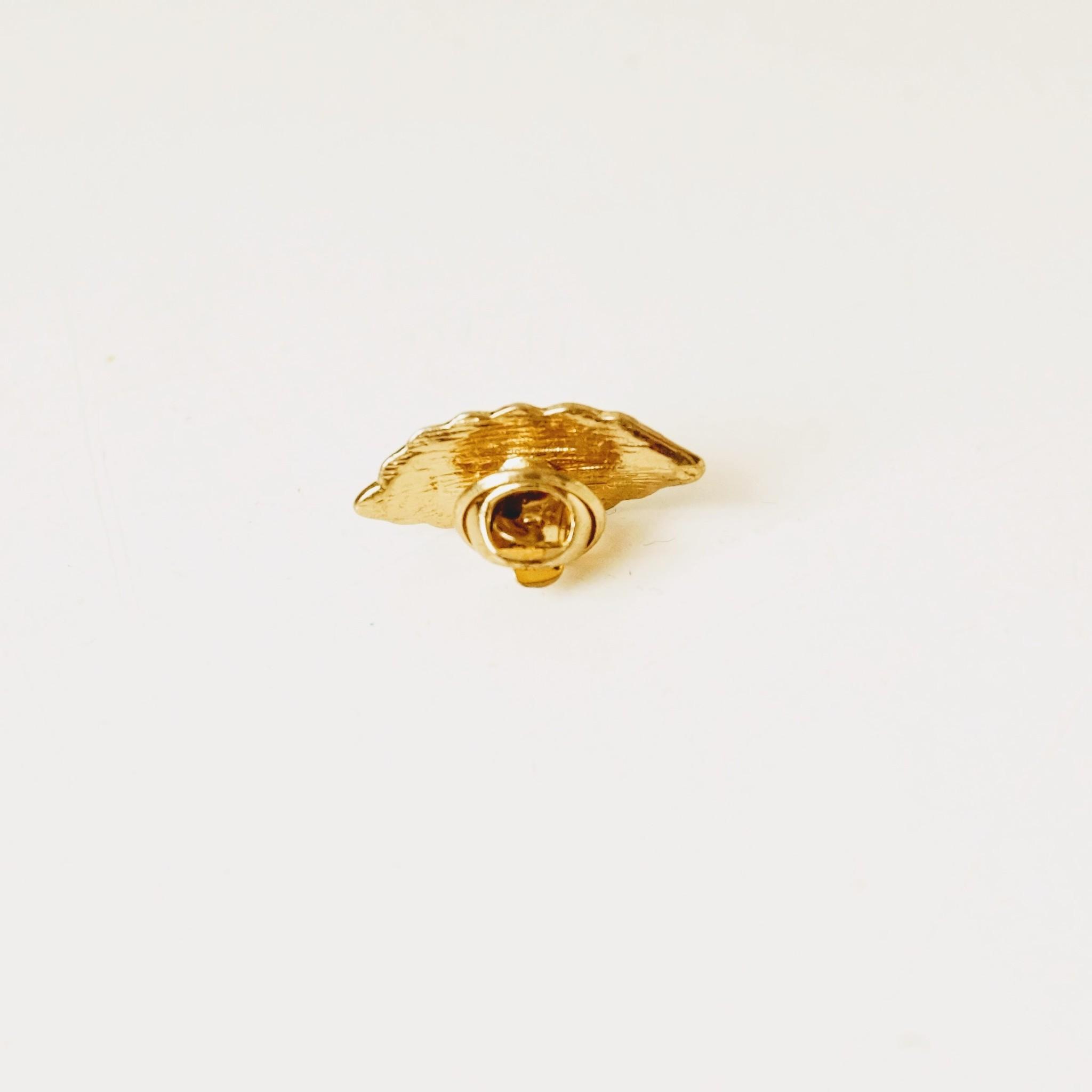 Verenbroche klein goudkleurig