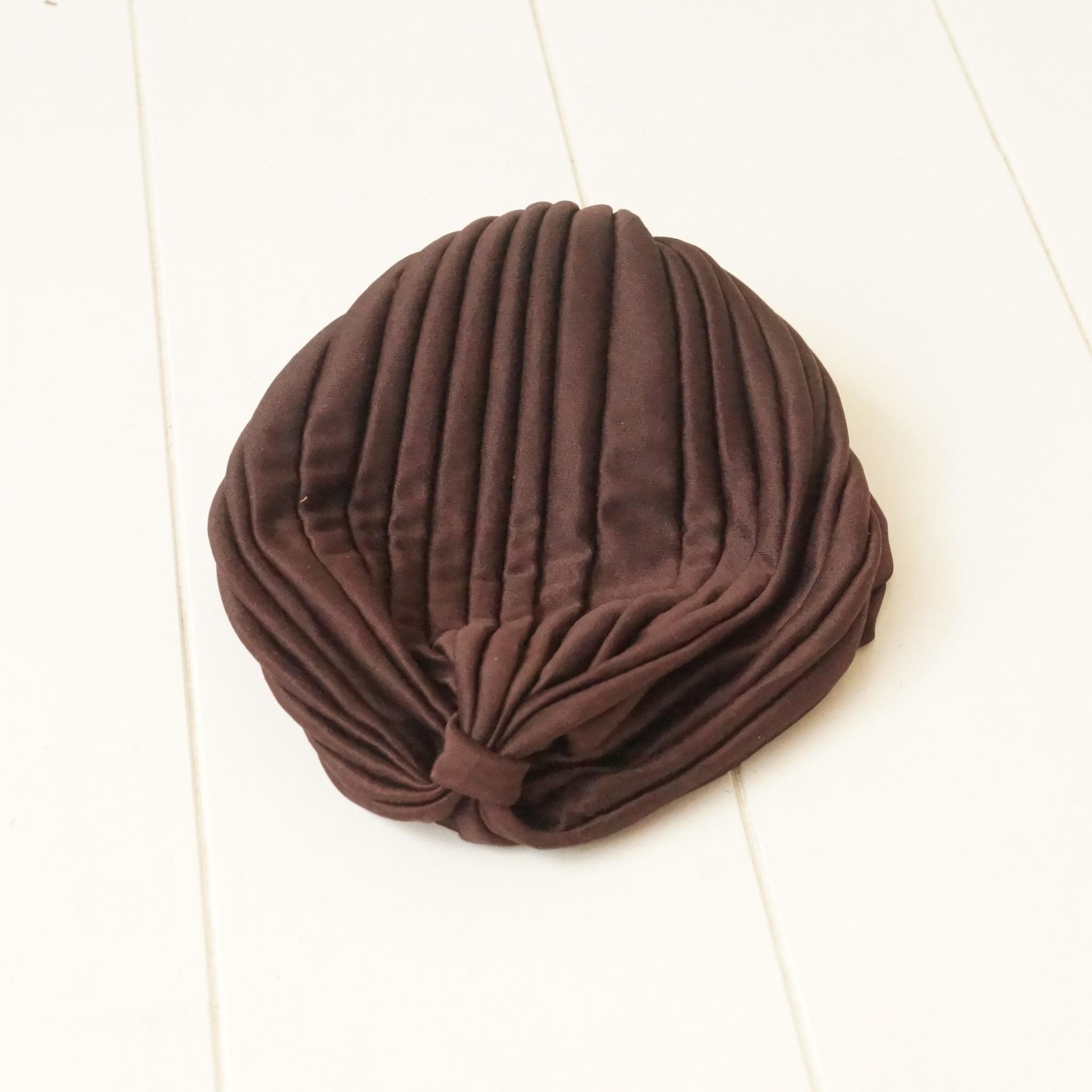 Tulband bruin
