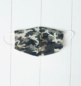 Mondkapje met camouflage print