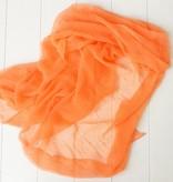 Zacht oranje sjaal