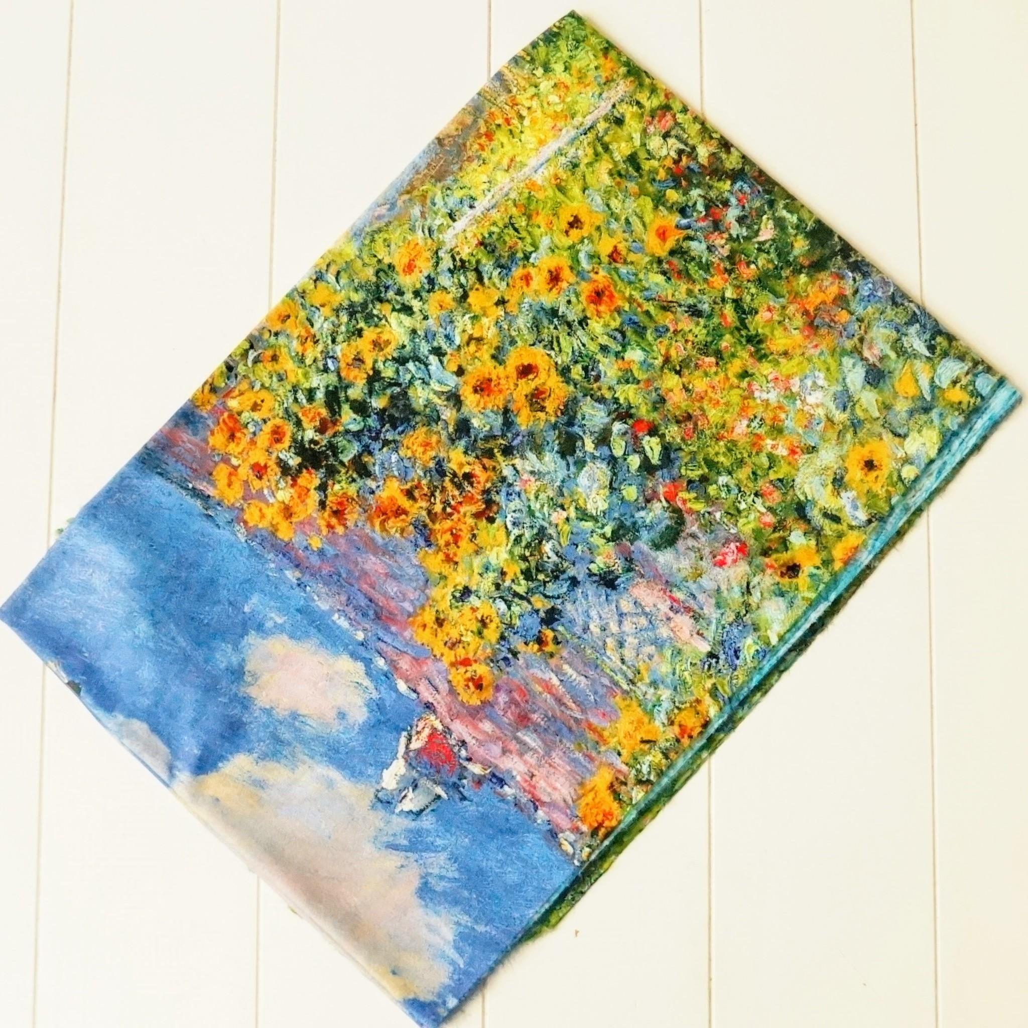 Sjaal Monetprint