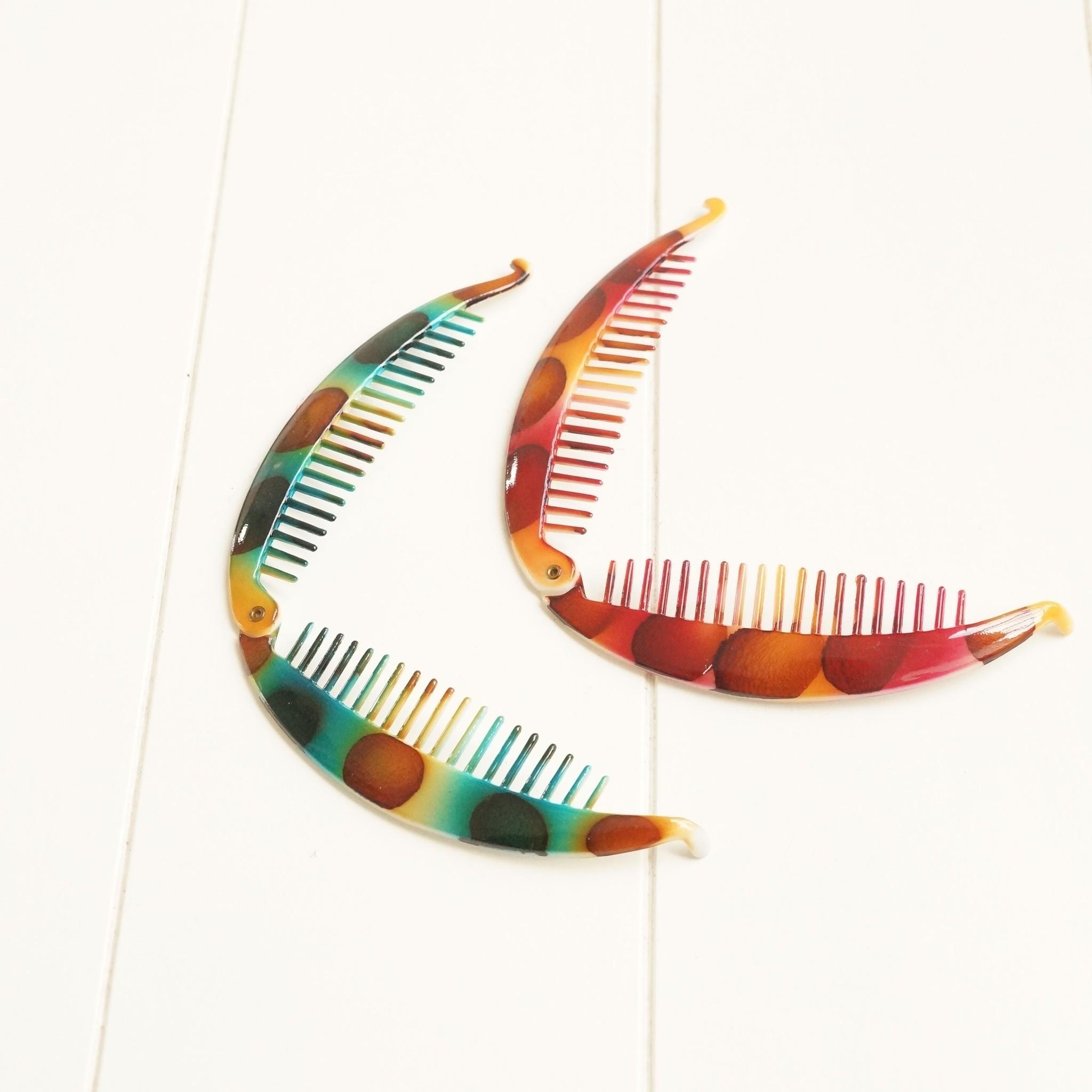 Gekleurde bananenklemmen (2X)