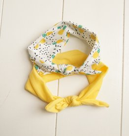 Kinderhaarbandjes geel (2)