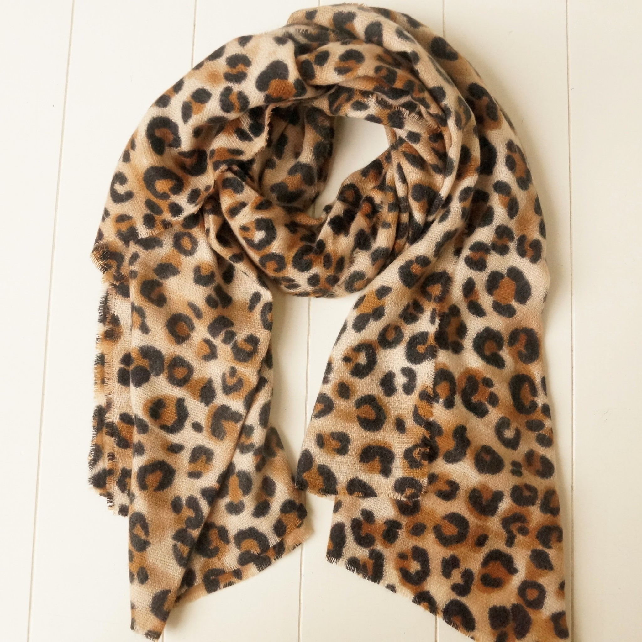 Leopard sjaal