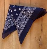 Donkerblauwe bandana