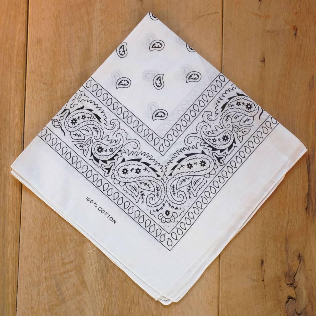 Witte bandana