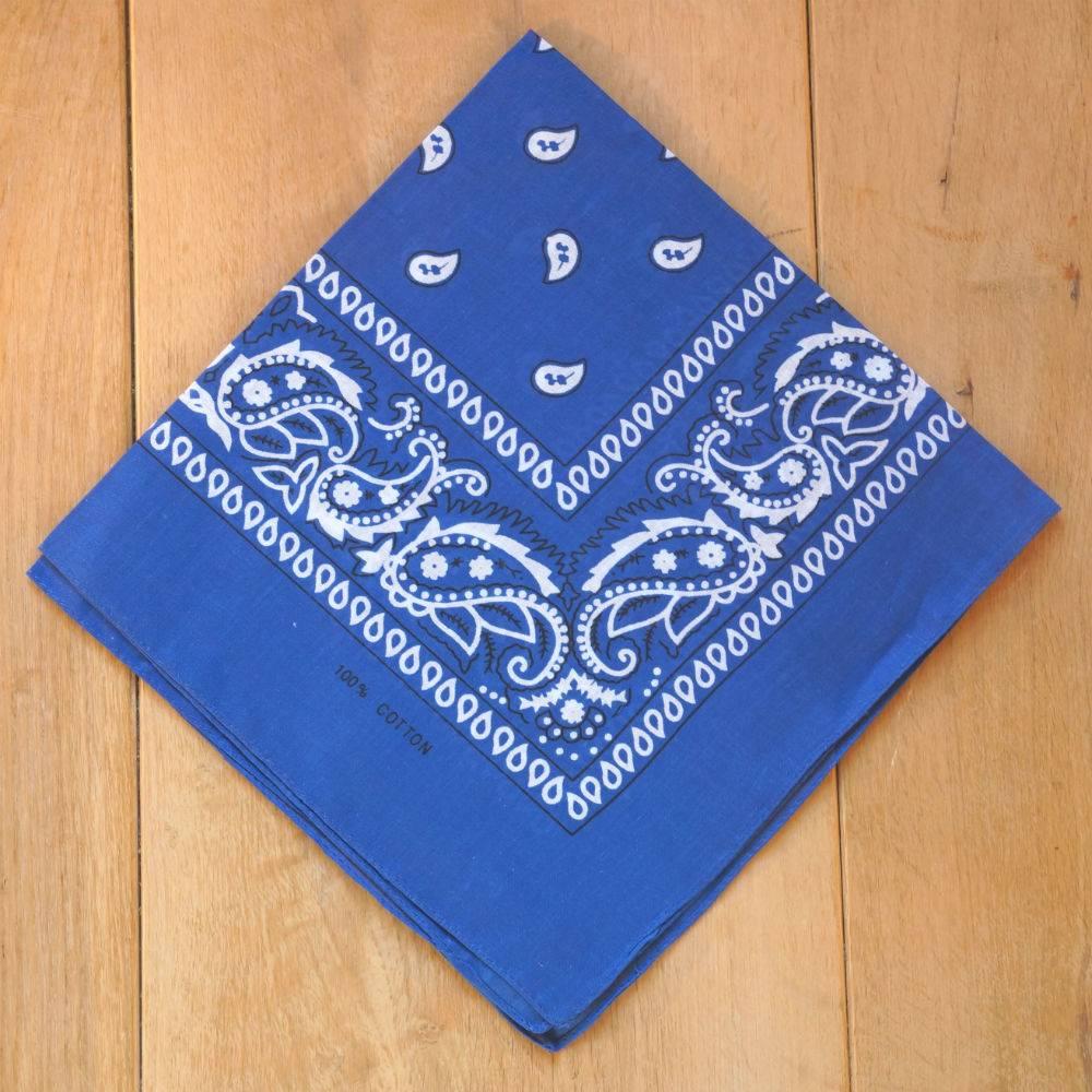 Kobalt blauwe bandana