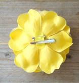 Gele corsage