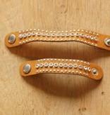 Bruine scarvelets strass (2 st)