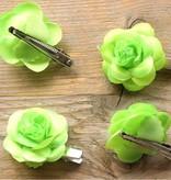 Fel groene bloemetjes (4 st)