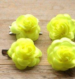 Fel gele bloemetjes (4 st)