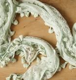 Zeegroene kanten sjaal