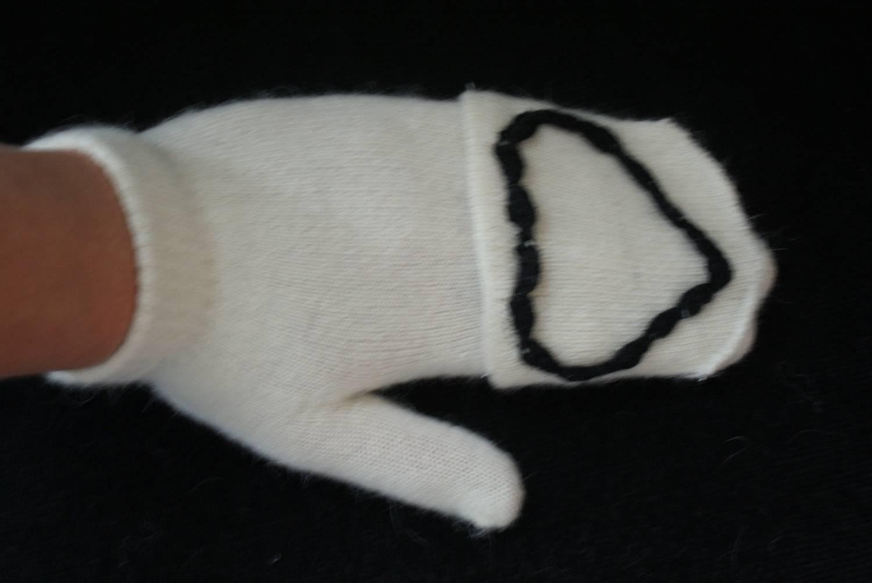 Handschoenen met hart