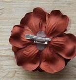 Chocoladebruine bloemcorsage