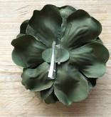 Mosgroene bloemcorsage