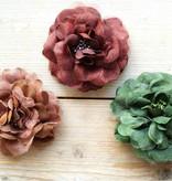 Herfstkleuren bloemcorsages (3 st)