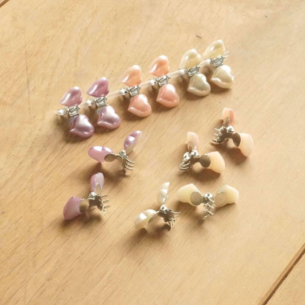 Klemmetjes met hartjes pastel (12)