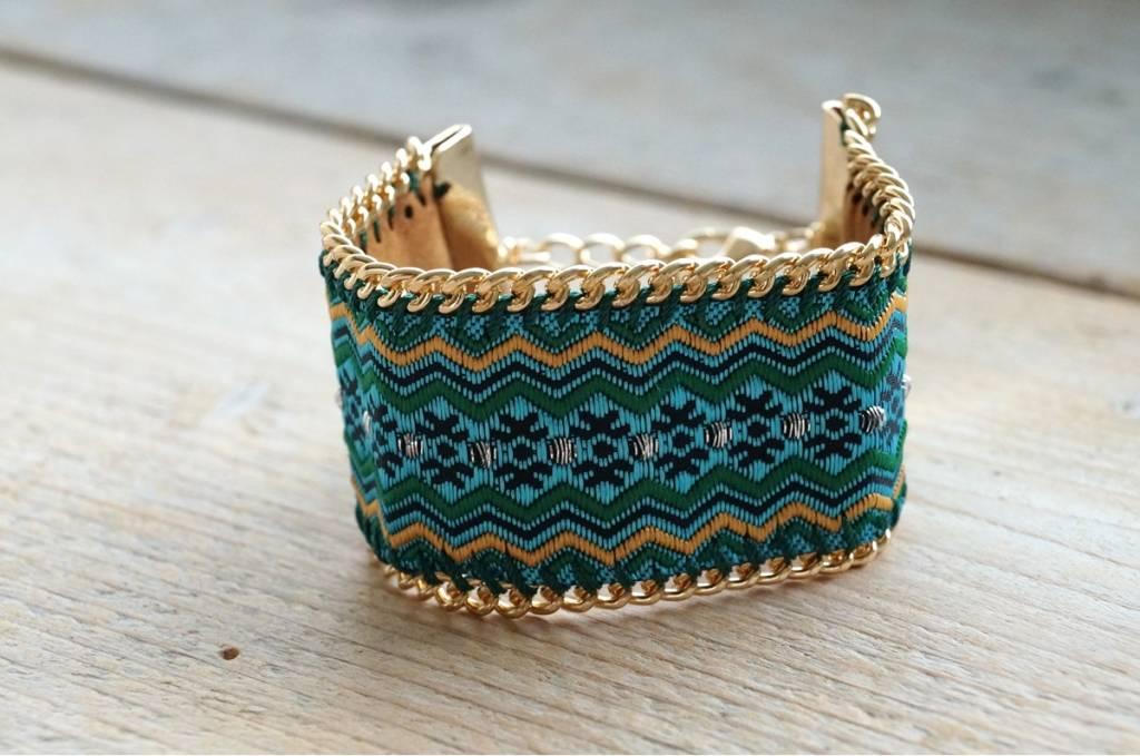 Turquoise Ibiza armband