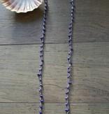 Zoetwaterparels paars
