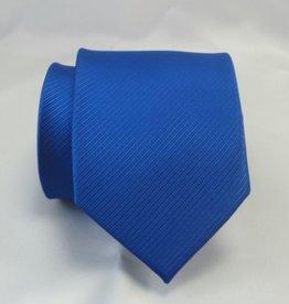 Kobalt blauwe stropdas