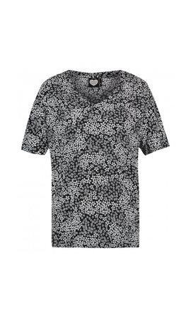 Catwalk Junkie - T-Shirt 'White Flowers'