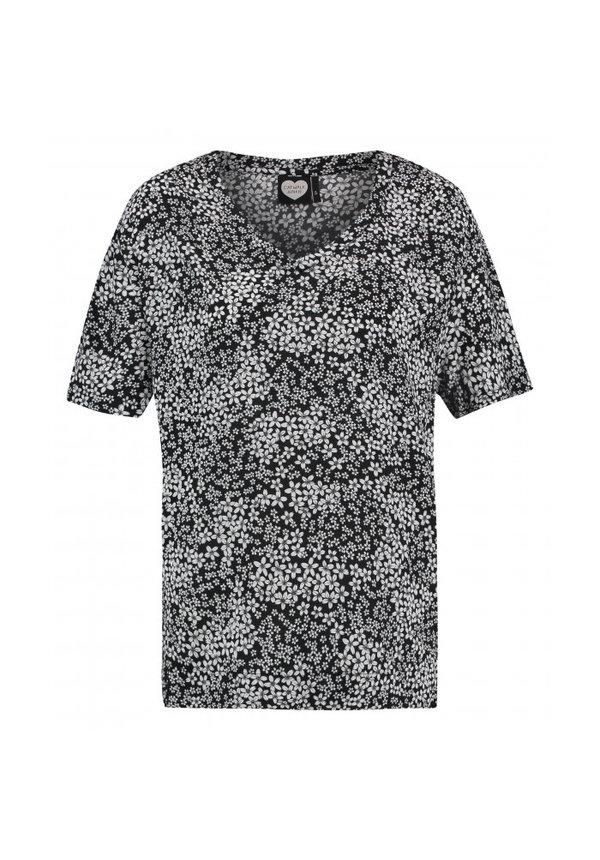 - T-Shirt 'White Flowers'