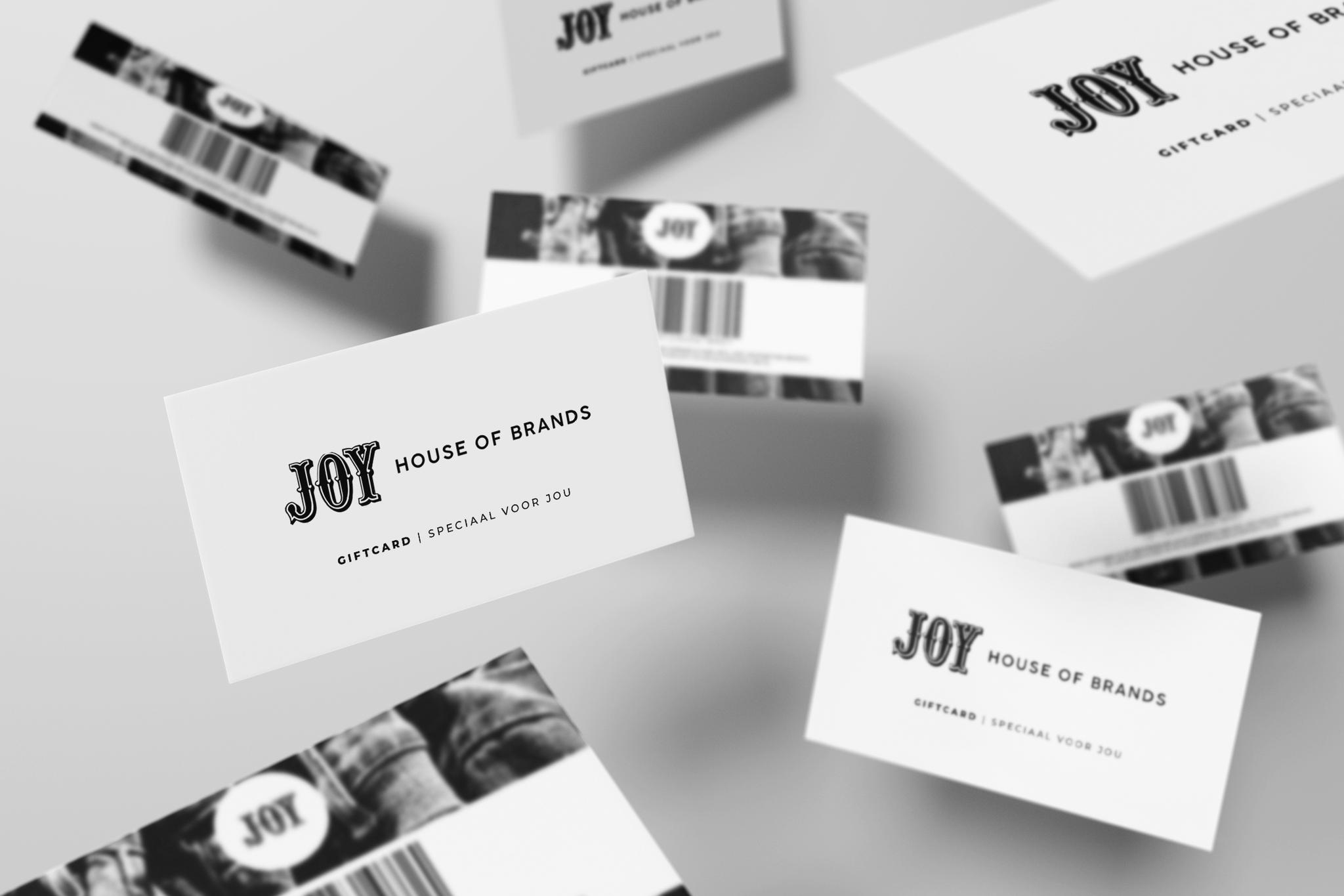 JOY-Giftcards - voor speciale momenten