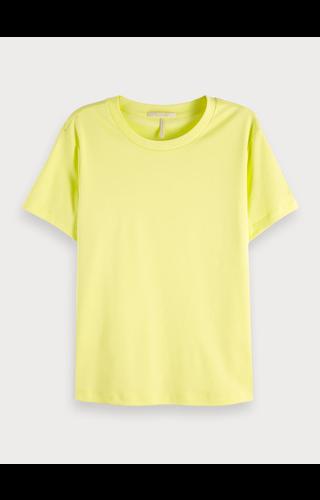 SCOTCH & SODA - Basic katoenen T-Shirt