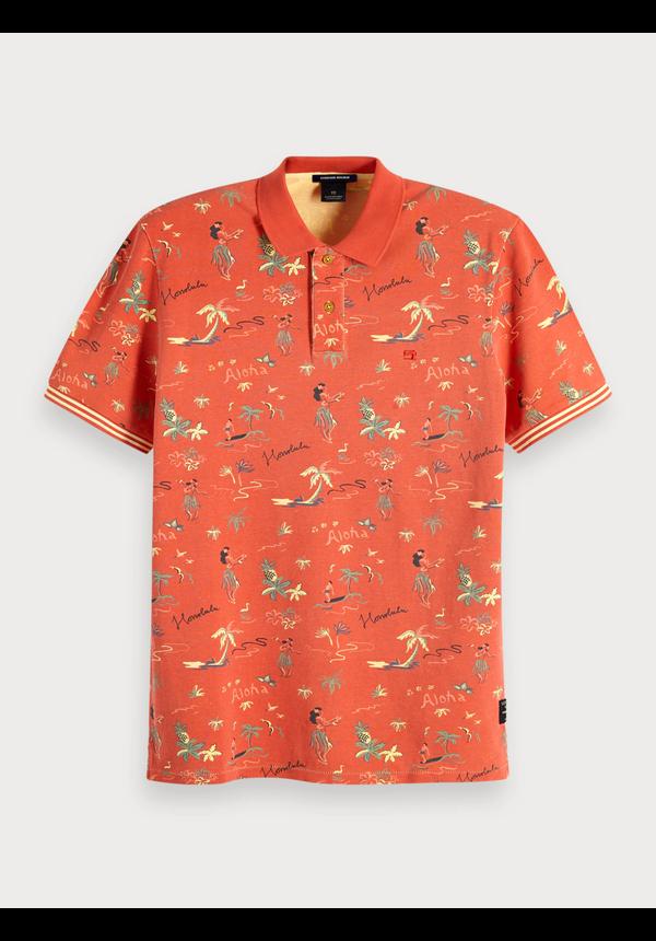 - Polo met Maui-print 149094