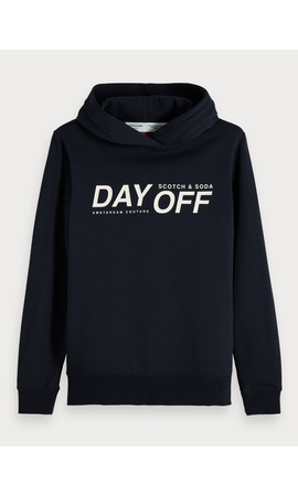 SCOTCH & SODA - Hoodie met 'DAY-OFF'-statement