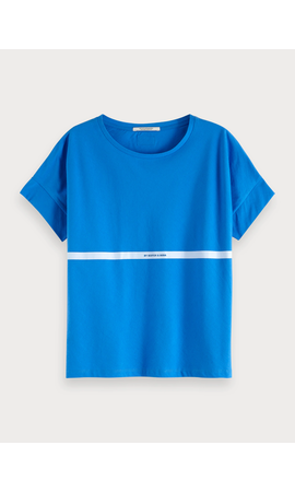 SCOTCH & SODA - Poolside Artwork T-Shirt