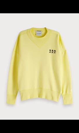 SCOTCH & SODA - Sweater met hoge hals 'The Poolside'