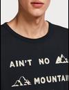 - T-shirt met bergen en tekst 148203