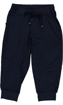 Geisha - Navy driekwart broek met stretch 91138-44