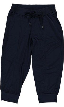 Geisha - Zwarte broek met stretch 91138-44