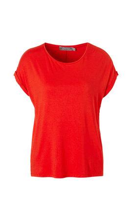 Geisha - T-Shirt Rood 92030-21