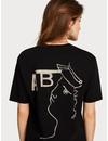 - T-shirt met artwork en korte mouwen  154068