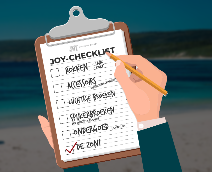 Dé Womens Joy-Vakantie Checklist!