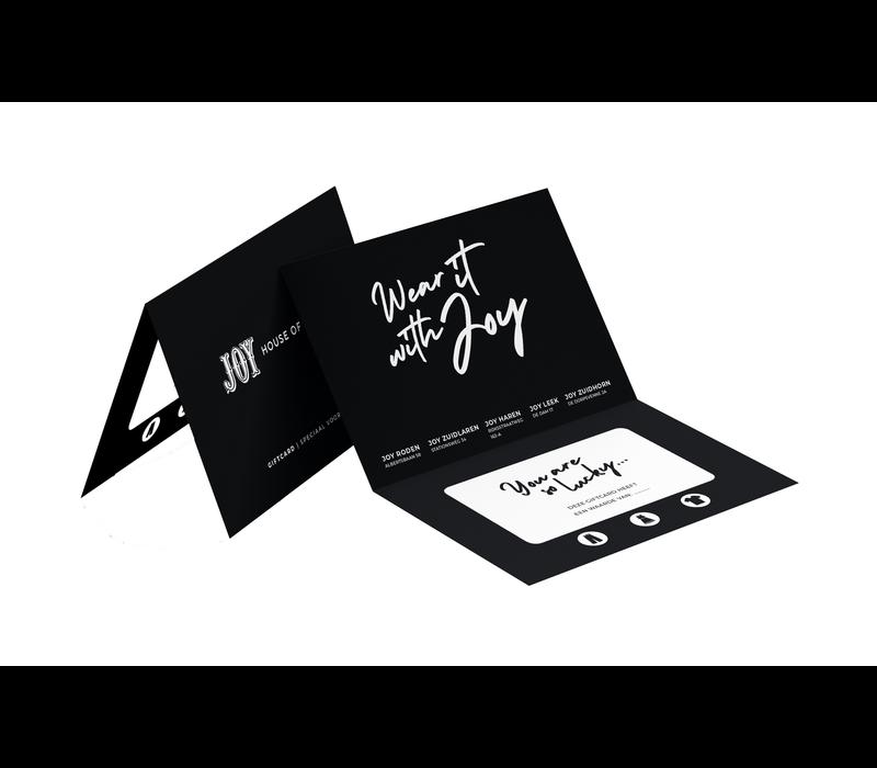 Joy Giftcard