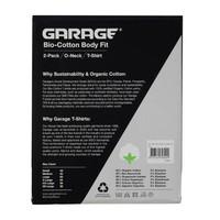 Garage 0221 0 neck 2 Pack Bio Cotton
