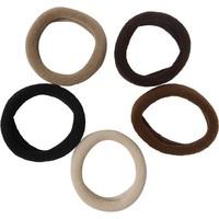 26425 Mini Elastic Brown Tones