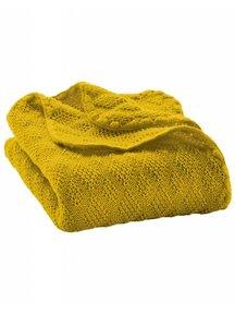 Disana Baby deken van wol - geel